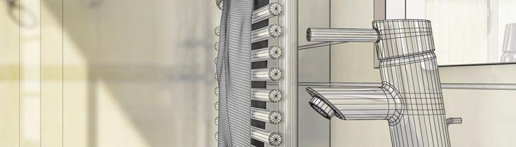 3D Badplanung der Firma Lippa